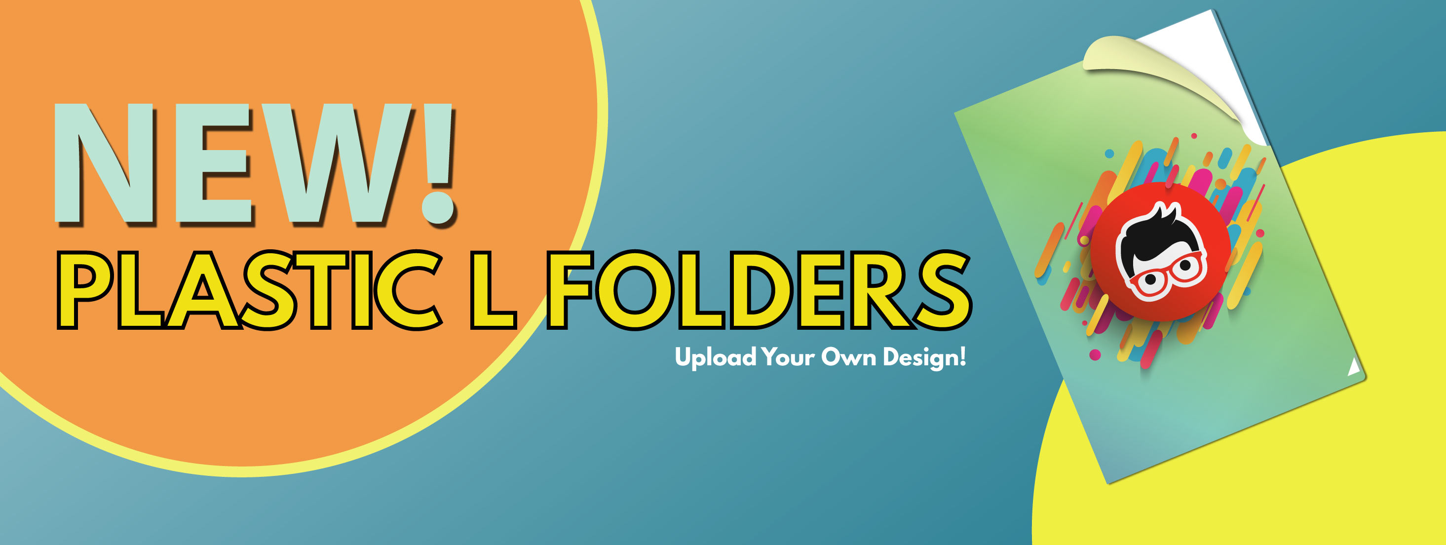 Plastic L Folder