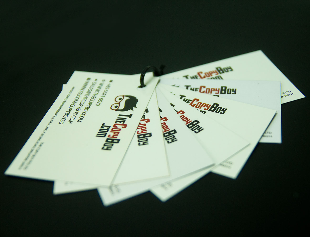 Business Card Printing – The Copy Boy