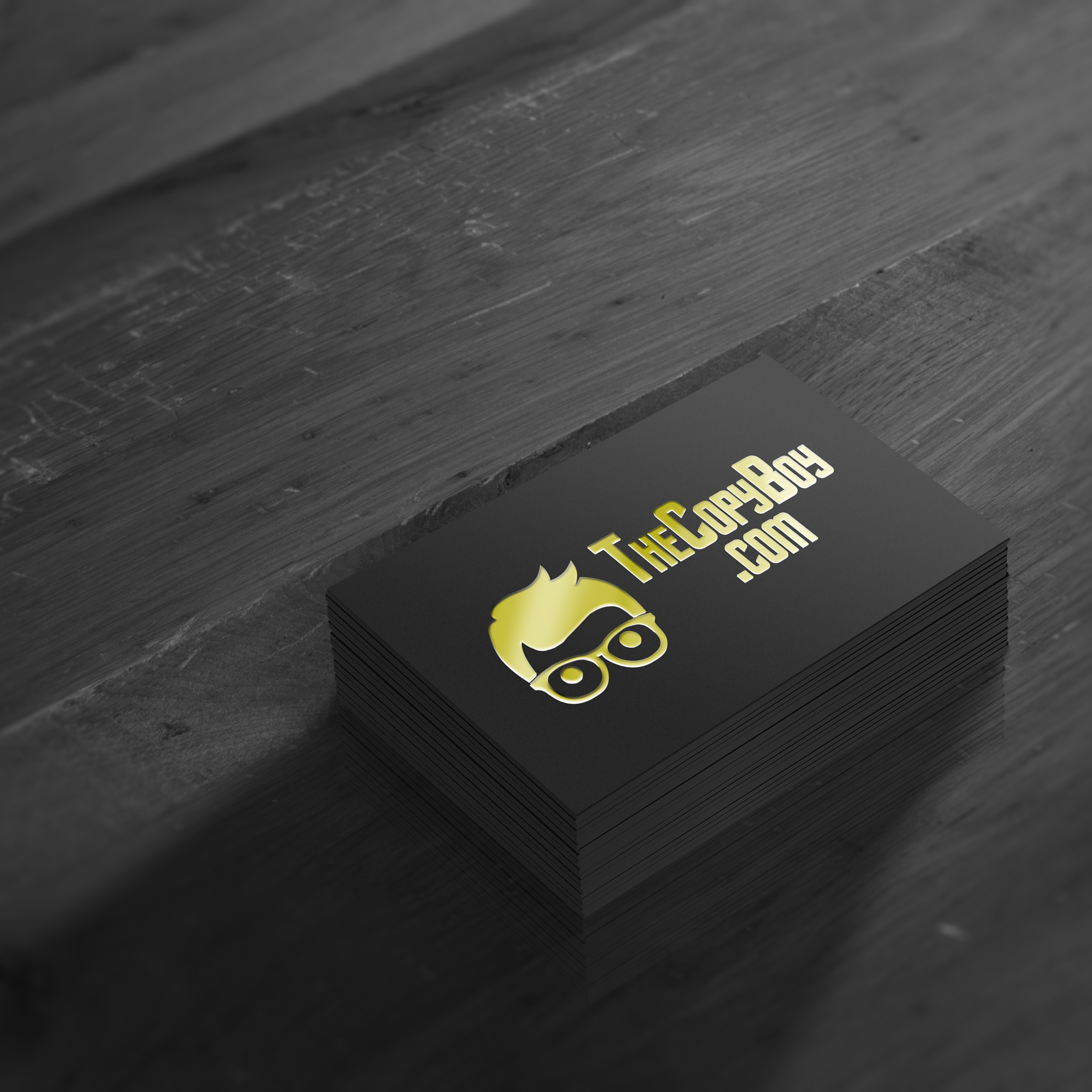 offset business card – the copy boy