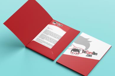 Corporate File Folder