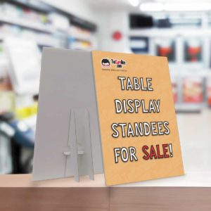 Table Display Standee Printing